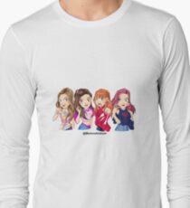 Anime Black Pink K-pop Long Sleeve T-Shirt