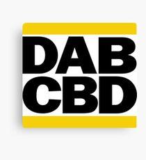 DAB CBD Canvas Print