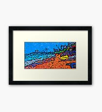 Picture 2015068 Justin Beck Beach Framed Print