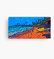 Picture 2015068 Justin Beck Beach Canvas Print