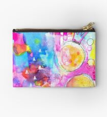 Colourful Abstract #1 Studio Pouch