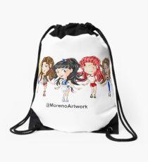 Anime Red Velvet K-Pop Drawstring Bag
