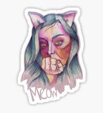 Cat Girl Sticker