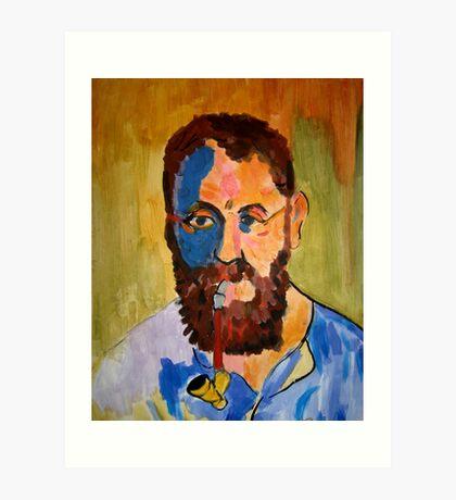 Matisse by Derain by Me Art Print