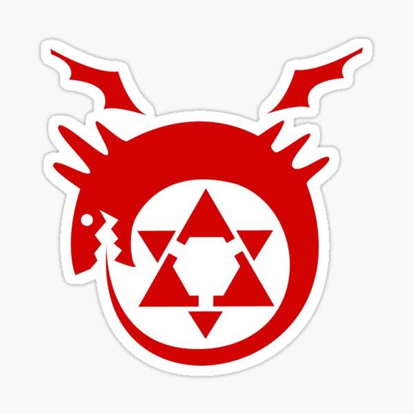 Fullmetal Alchemist - Homunculus Sticker