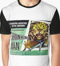 RETRO Incredible Shrinking Man Drive IN Graphic T-Shirt