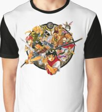 Suikoden Liberation Army Cover Design (No text) Graphic T-Shirt
