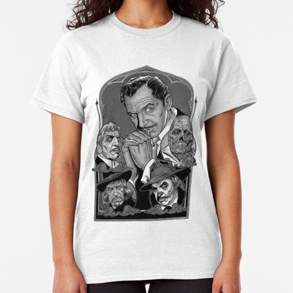Hammer Horror T-Shirt Film Star Icon White Shirt Christopher Lee