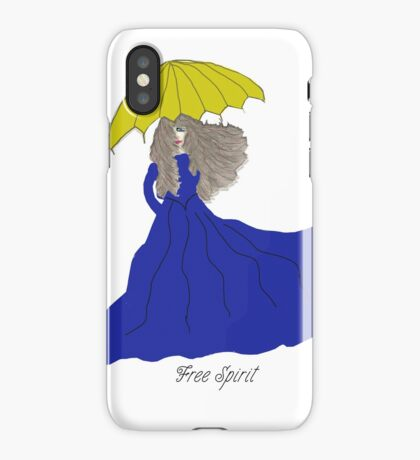 Free Spirit Melinda iPhone Case