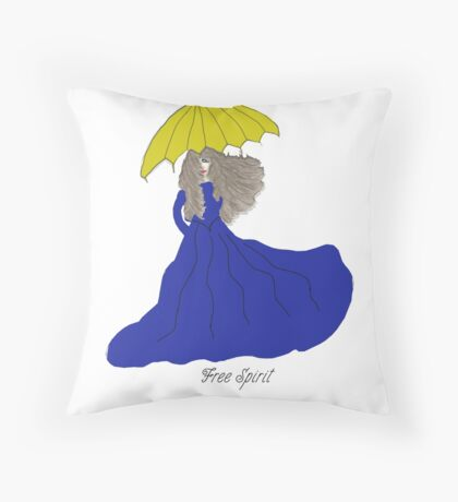 Free Spirit Melinda Throw Pillow