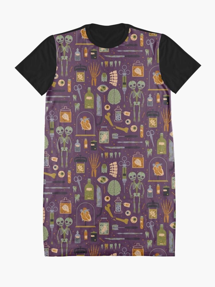 Alternate view of Oddities Graphic T-Shirt Dress