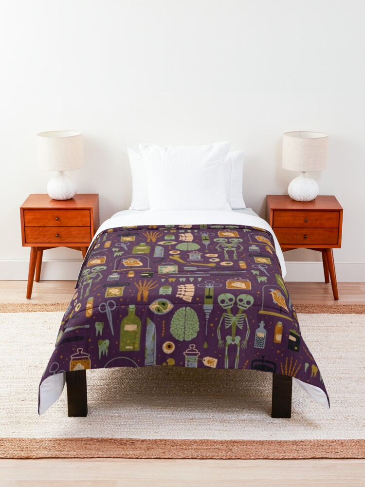 Alternate view of Oddities Comforter