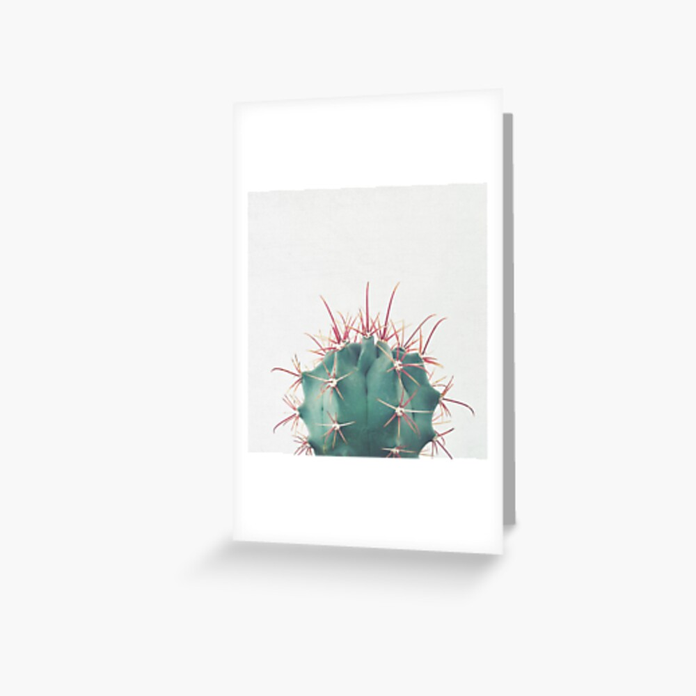 Ferocactus Greeting Card