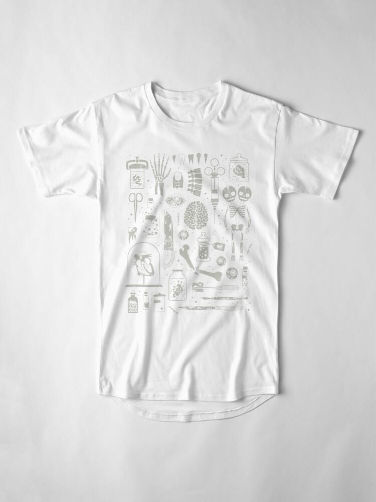 Alternate view of Oddities: X-Ray Long T-Shirt
