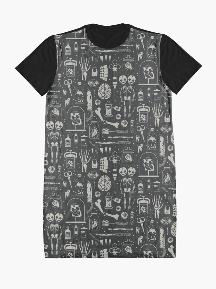 Alternate view of Oddities: X-Ray Graphic T-Shirt Dress