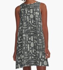 Oddities: X-Ray A-Line Dress