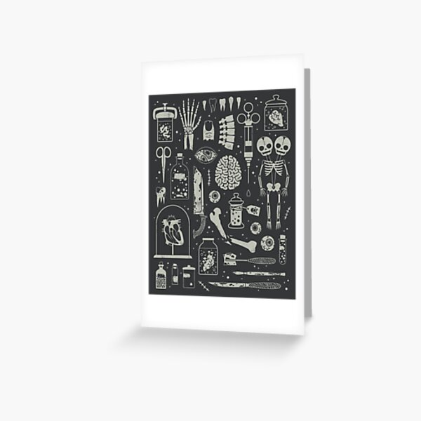 Oddities: X-Ray Greeting Card