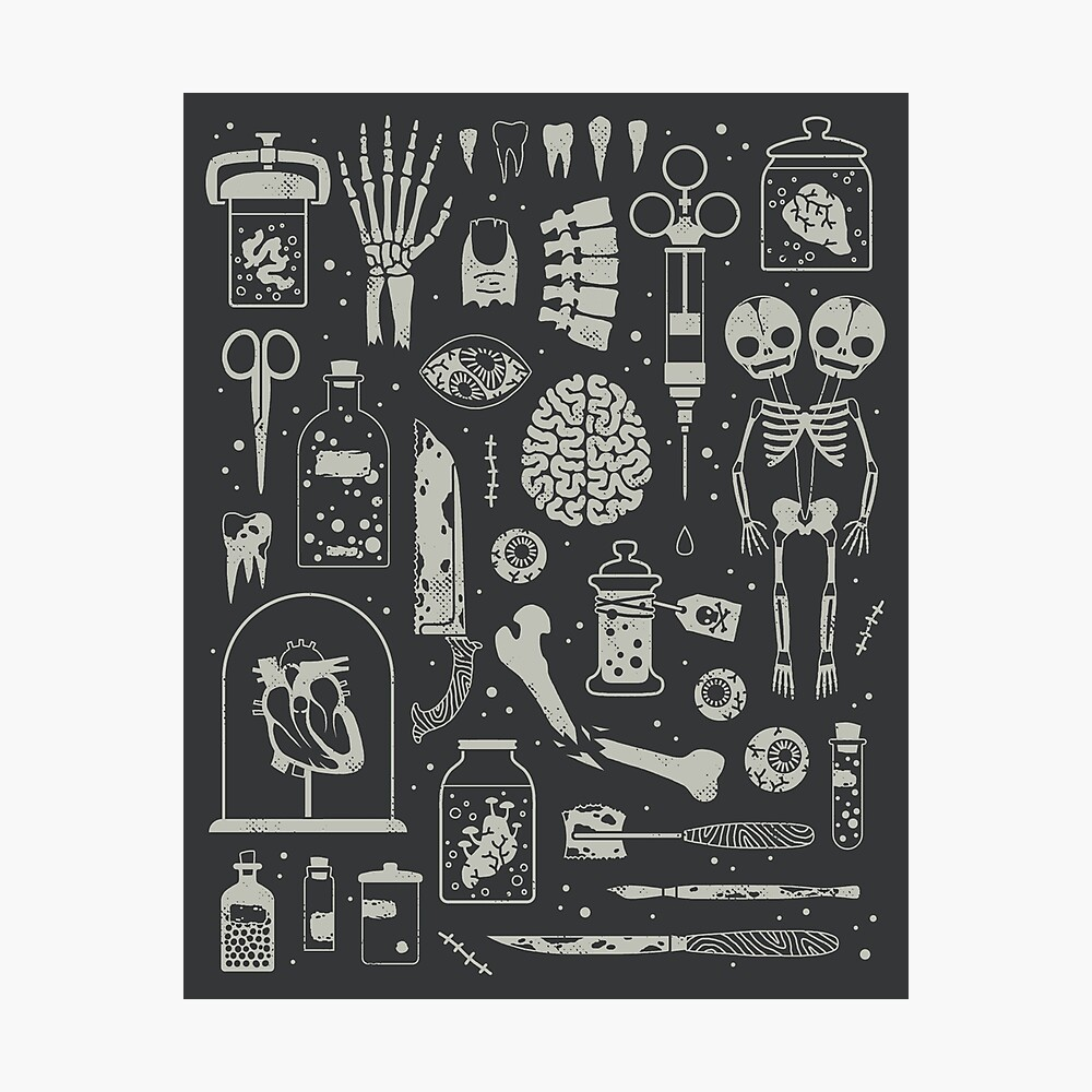 Oddities: X-Ray Photographic Print