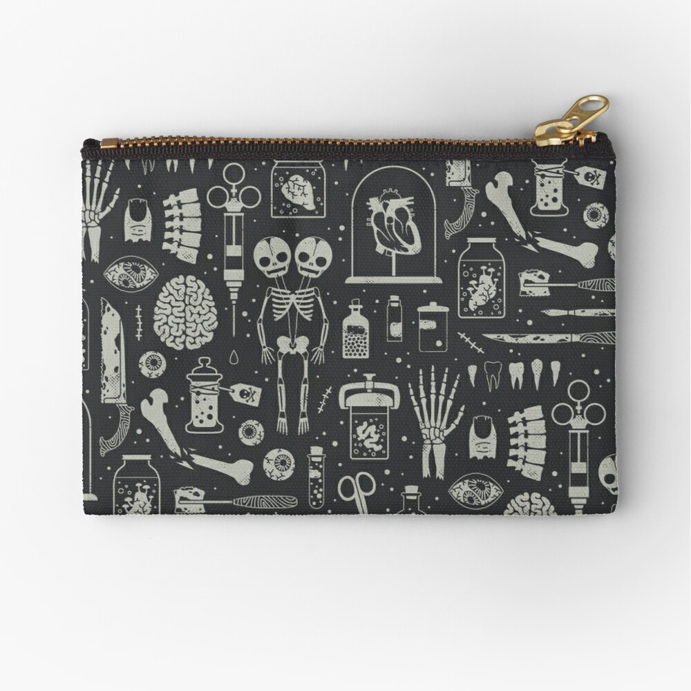 Oddities: X-Ray Zipper Pouch