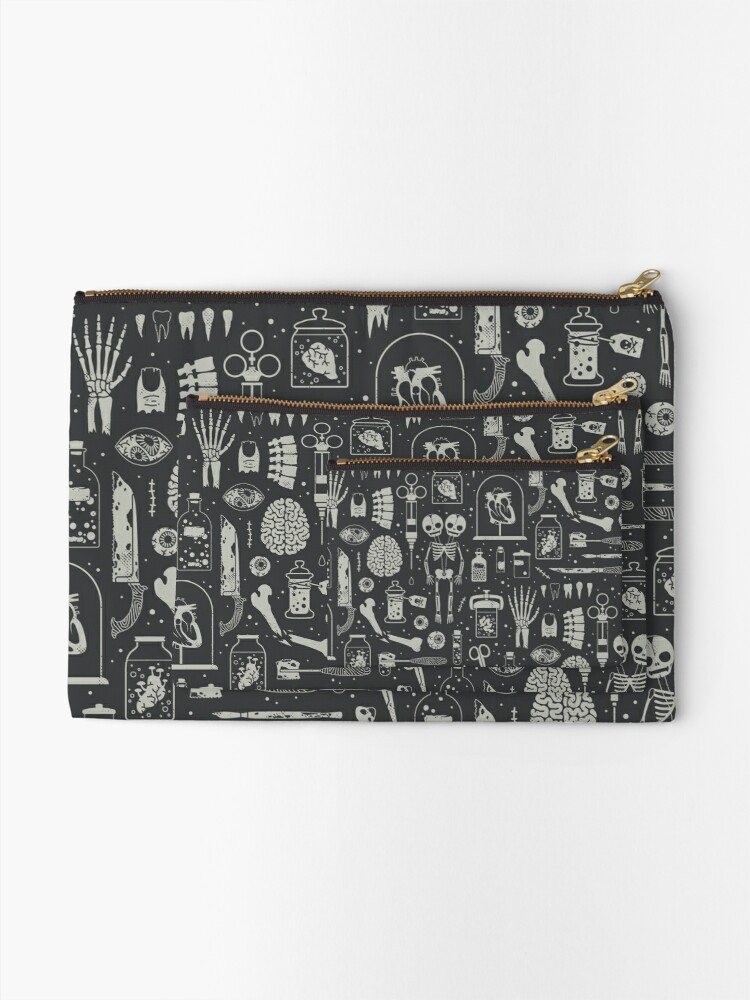 Alternate view of Oddities: X-Ray Zipper Pouch