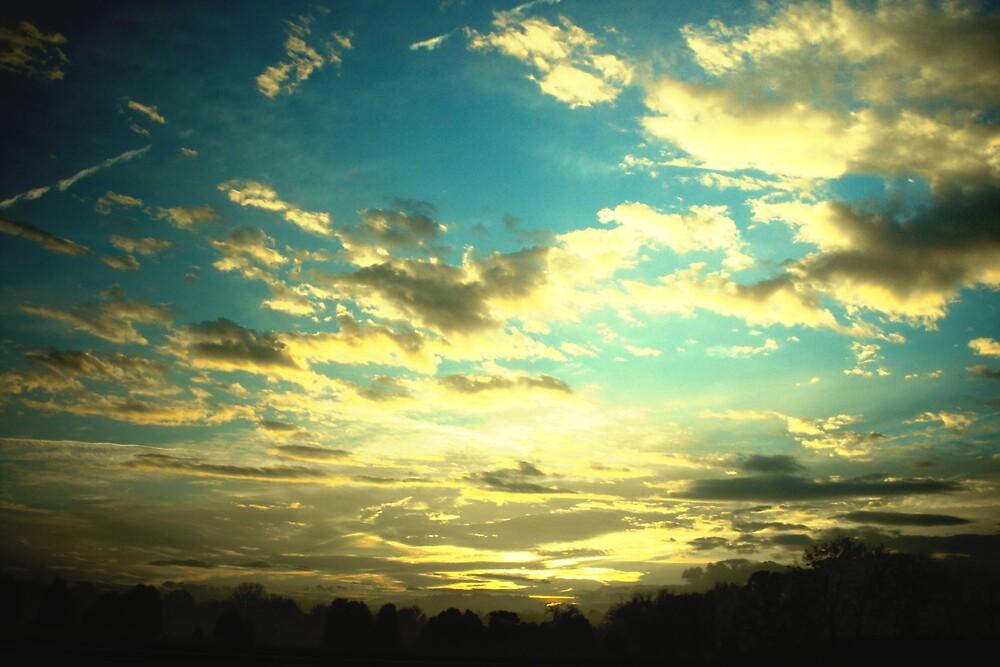 Clouds & Sunrise by Domsmom