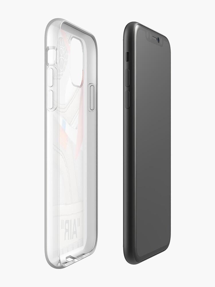 "etui iphone x amazon - Coque iPhone «THE 10: AIR JORDAN 1 ""OFF-WHITE"" - BLANC Etui iPhone 2018», par sportify"