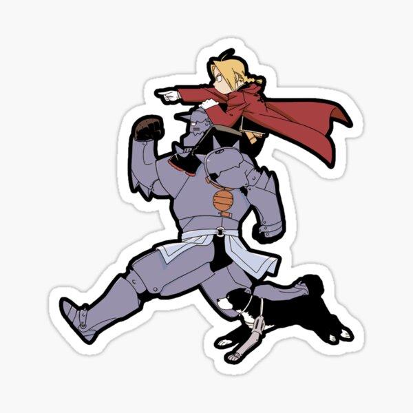 Fullmetal Alchemist - Brothers Sticker