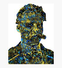 Nietzsche Electric Spaceship Photographic Print