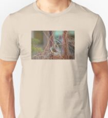 White Crowned Sparrow On A Winter Day Unisex T-Shirt