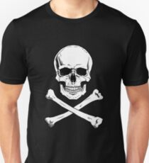 Pirate Jolly Roger with crossbones T-Shirt