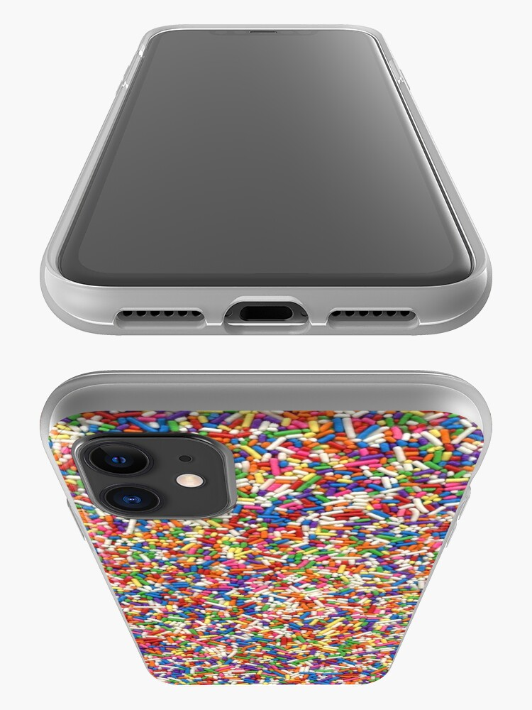 Alternate view of Rainbow Sprinkles iPhone Case & Cover