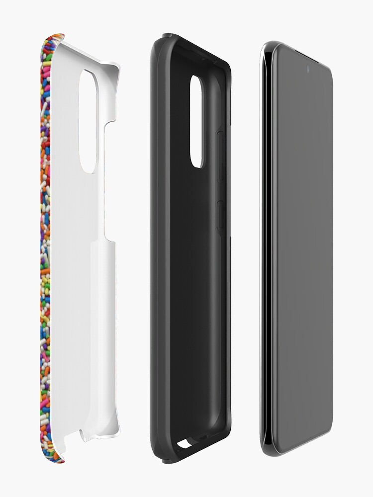 Alternate view of Rainbow Sprinkles Case & Skin for Samsung Galaxy