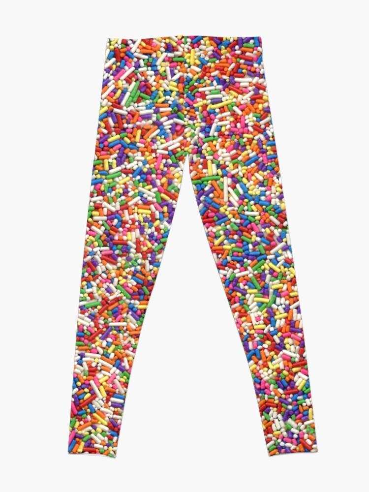 Alternate view of Rainbow Sprinkles Leggings