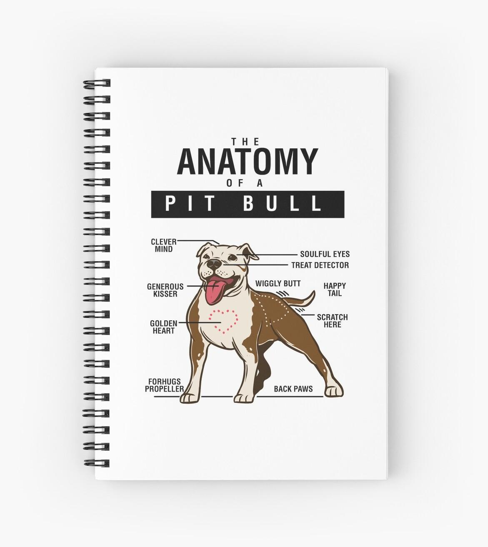 Anatomy of A Pit Bull - Funny Dog Anatomy\