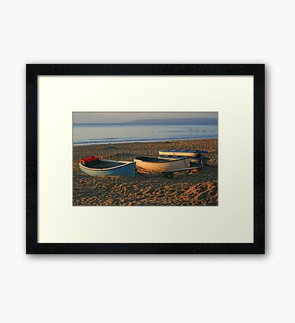 Durley Fleet Framed Print