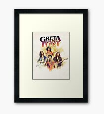 Greta Van Fleet your join our Tour 2018 Framed Print