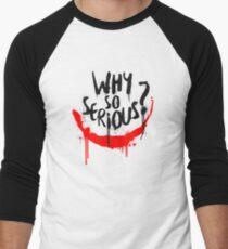 The Joker - Why so serious? Men's Baseball ¾ T-Shirt