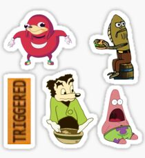 Meme Sticker Bundle  Sticker