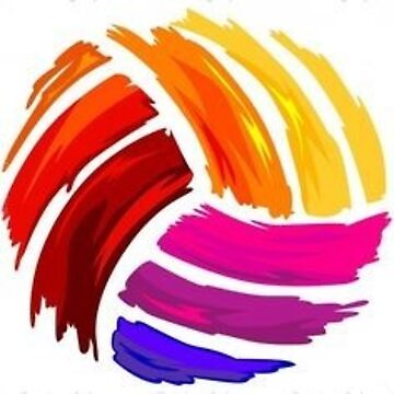 Arcoiris de voleibol de pepperh24