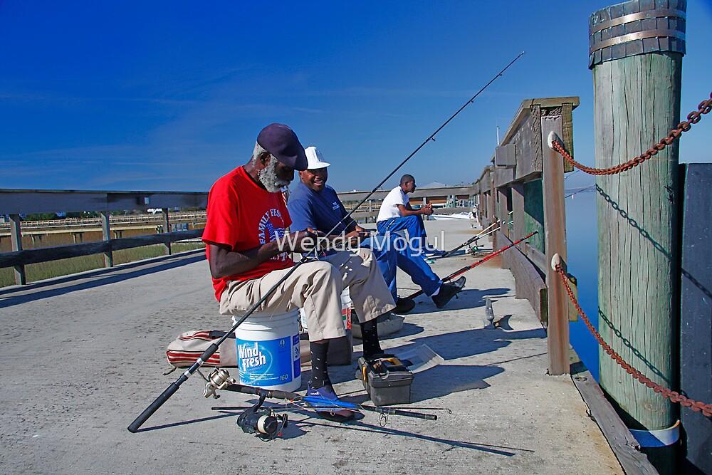 The Fisherman by Wendy Mogul
