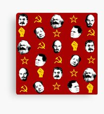 Communist Leaders Canvas Print