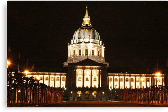 Capitol Building, San Francisco by Stela Rahman