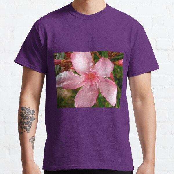 Rosa Oleander Classic T-Shirt