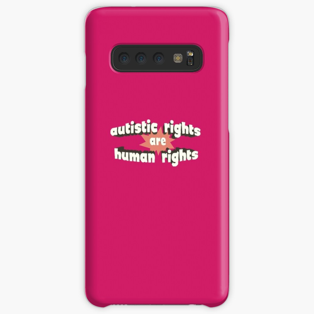 Autistic Rights are Human Rights Samsung Galaxy Snap Case
