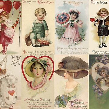 Vintage Valentine's Day Collage by AtticSalt