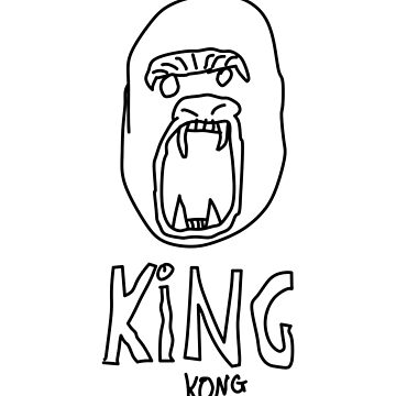 King Kong Tee by Blueprintjim