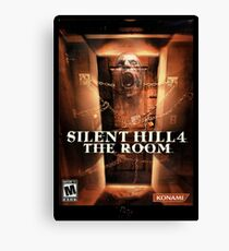 Silent Hill 4 The room box cover art - Brazz Canvas Print