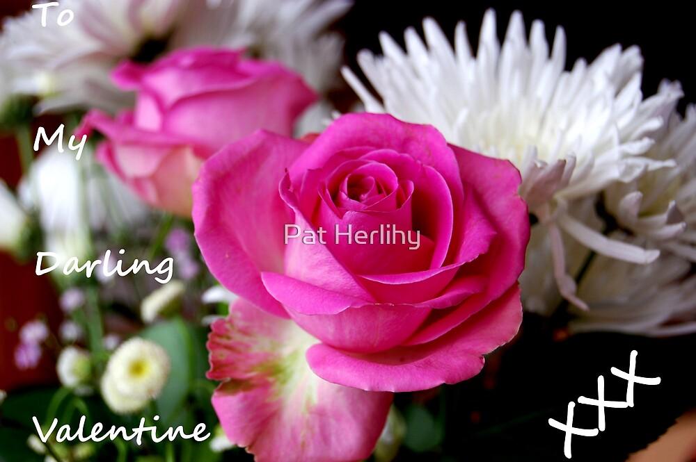 Valentine Flowers 1 by Pat Herlihy