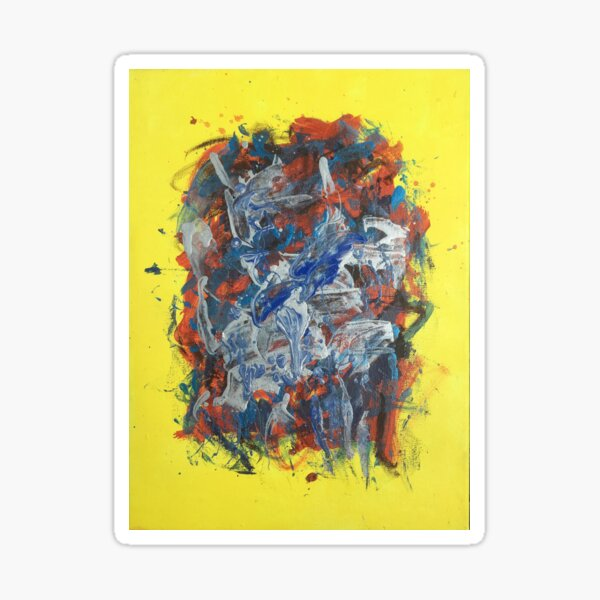 Untitled '17 (in Yellow) Sticker