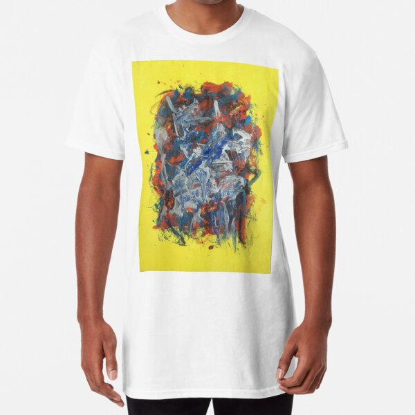 Untitled '17 (in Yellow) Long T-Shirt